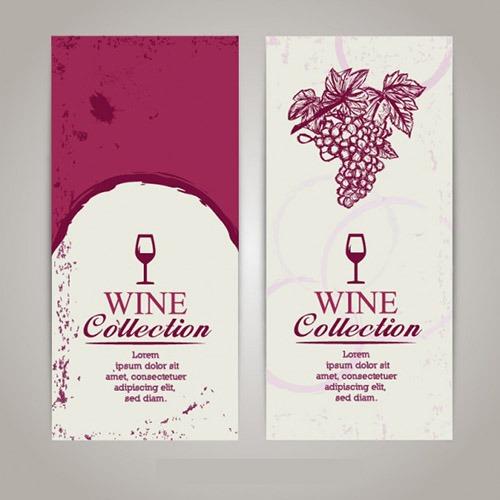 Modelo carta de vinhos personalizada