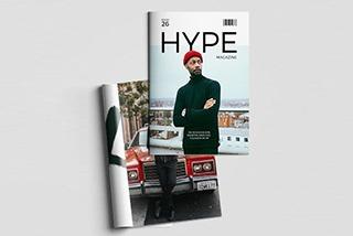 modelo de revistas e catalogos
