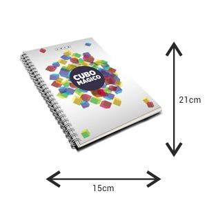 modelo de caderno personalizado